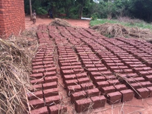 New church bricks - hand made