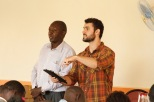 Pasor Zach teaching to pastors convention_Kamuli