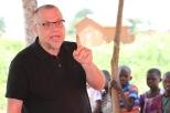 Pastors Brian preaching Kisanga